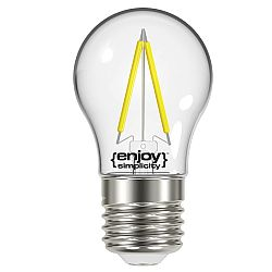 Λάμπα LED FILLAMENT P45 2,6W Ε27 2700k
